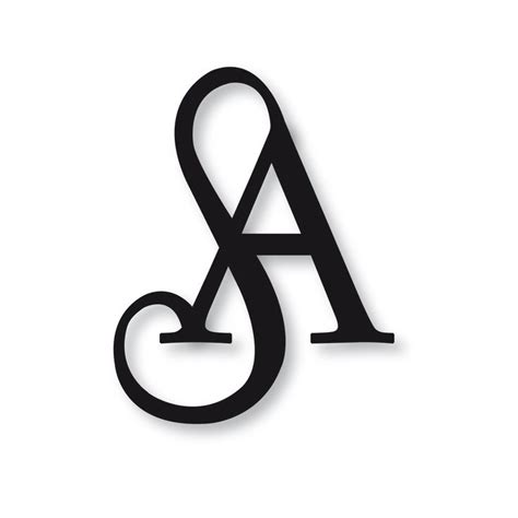 s logo icon design alphabet letter stylish sa logo pesquisa do sa monograma