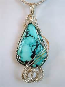 Turquoise Wire Wrapped Jewelry