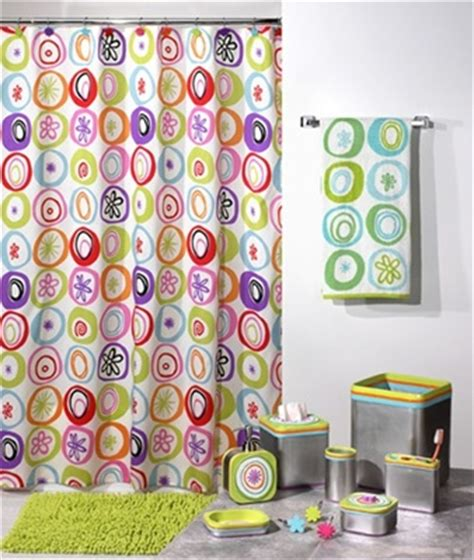 washable shower curtain contemporary modern bright