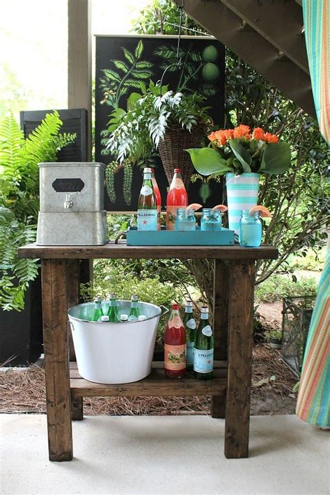 Outdoor Entertaining Easy And Affordable  Refresh Restyle
