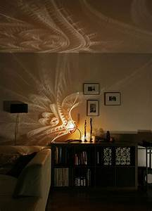 Gorgeous gourds tropical lamps swirl light shadow