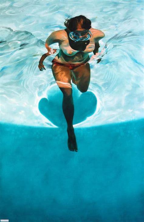 sarah harvey paintings incredibly realistic underwater