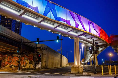 city explains lights  unfinished navy pier flyover