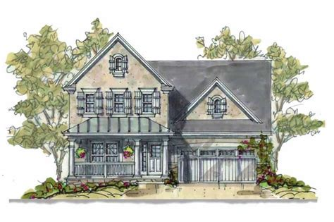 bedrm  sq ft colonial house plan