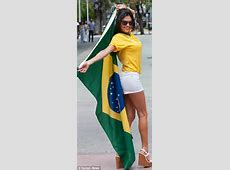 Alessandra Ambrosio celebrates World Cup kickoff with her