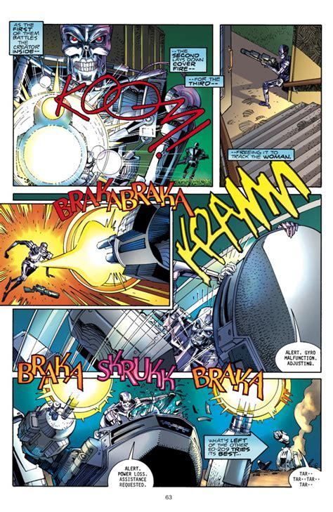 robocop terminator hc profile dark horse comics