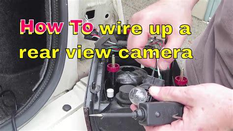 locate  wire  reverse lights   rear