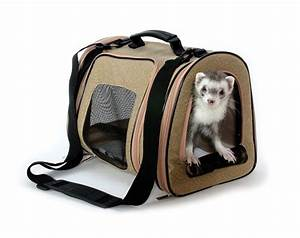 Ferret Tote Rabbit Chinchilla Small Pet Carrier Travel Bag