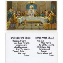 polish art center grace    meals prayer