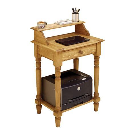 petit bureau informatique conforama meuble naturel bois interior 39 s meubles en bois massif naturel