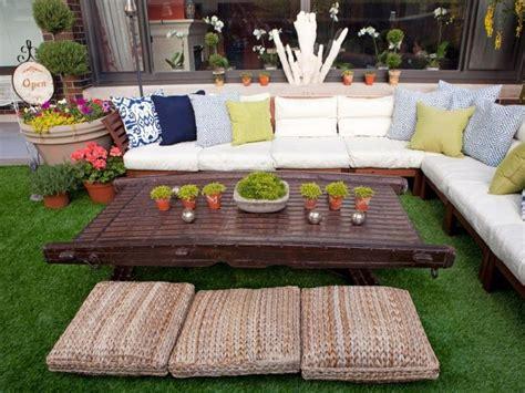 Gartenlounge Gestalten by Cesped Artificial Para Balcones Y Terrazas 25 Ideas