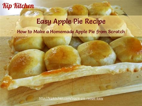 how to make a pie easy apple pie recipe how to make a homemade apple pie from scratch