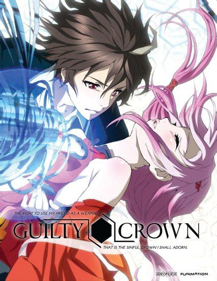 anime guilty crown capitulo 1 guilty crown anime planet