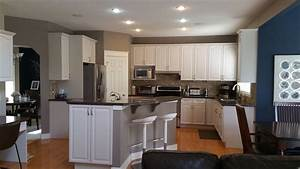 Cabinet, Painting, Project, In, Evergreen, Calgary, Ab