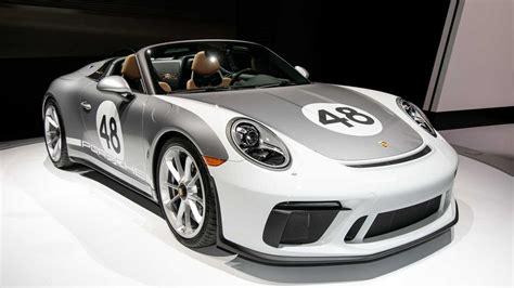 Porche Nyc by 2019 Porsche 911 Speedster Races Into New York With 502 Hp