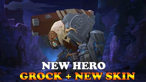 New Hero Grock + New Skin (first Look)