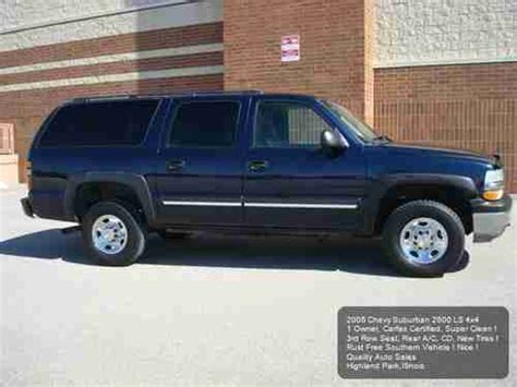 auto air conditioning repair 2005 chevrolet suburban 2500 instrument cluster buy used 2005 chevy suburban 2500 ls 4wd 3rd row 1owner rear a c carfax cd new tires in