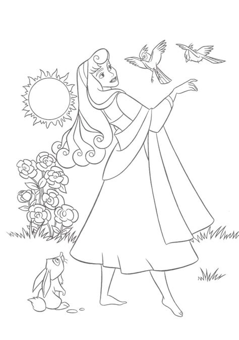 printable sleeping beauty coloring pages  kids