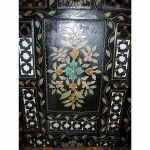 Paravent Tete De Lit : paravent t te de lit relief fleur noir ~ Teatrodelosmanantiales.com Idées de Décoration