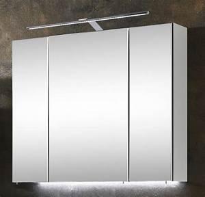 Spiegelschrank 80 Cm Breit : marlin bad 3060 spiegelschrank 80 cm breit sanb8 badm bel 1 ~ Eleganceandgraceweddings.com Haus und Dekorationen