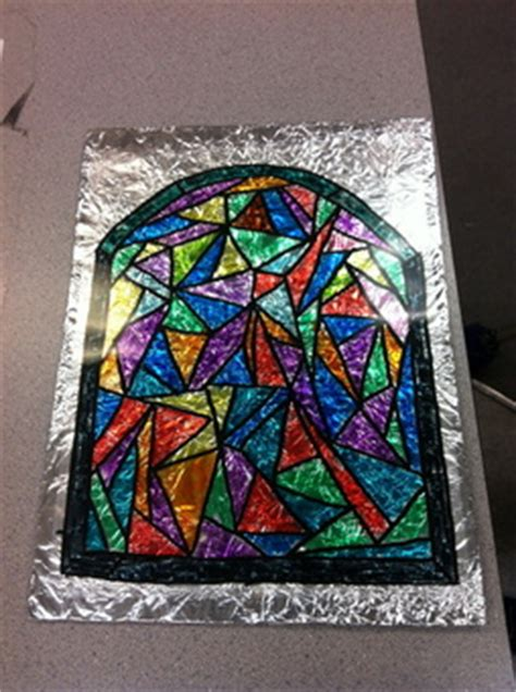 christmas stained glass project diamond moms treasury