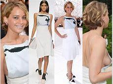 Jennifer Lawrence Side Boob Jennifer At Dior's Paris