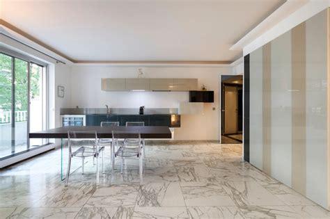cuisine integree cuisine ouverte intégrée dans le salon contemporary kitchen by arlydesign