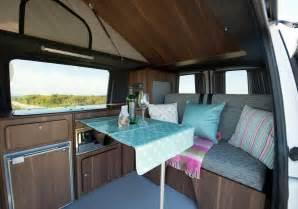 Pop Up Camper Van Interior