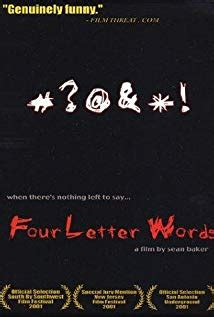 four letter word four letter words 2000 imdb 37769