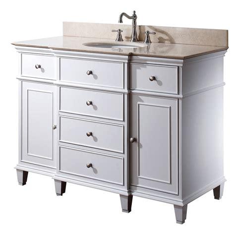avanity windsor  bathroom vanity white
