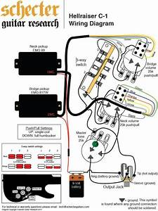 Schecter Hellraiser Wiring Diagram