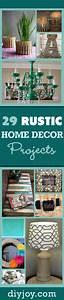 29, Rustic, Diy, Home, Decor, Ideas