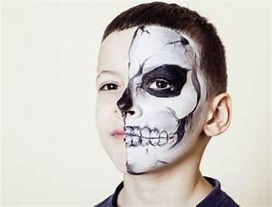 Maquillage Squelette Facile : comment maquiller mon enfant pour halloween ~ Dode.kayakingforconservation.com Idées de Décoration