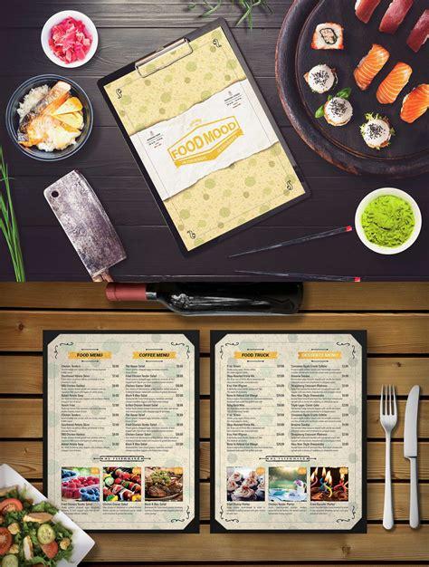 Cafe Menu Card PSD Mockup Download for Free | DesignHooks