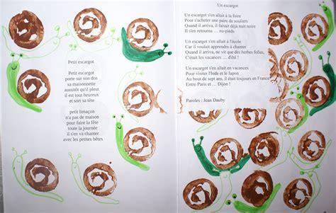 petit escargot peint 224 la pomme de terre nanou laurence