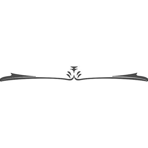 Decorative Divider Lines - decorative line black png transparent decorative line