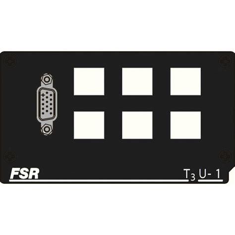 fsr floor box inserts fsr t3u 1 6shd insert t3u 1 6shd b h photo