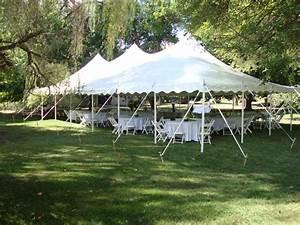 30' x 60' Pole Tent - Taylor Rental of Torrington