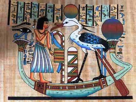 pintura egipcia 211 leo s papiro fenix alma humanafrete