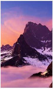 mountains nature render 3d vue 1680x1050 wallpaper High ...