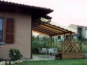 Pergole e Coperture per esterno in legno lamellare Tendasol