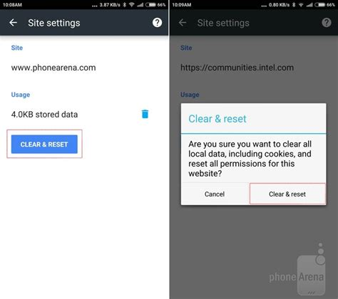 clear cookies android how to clear cookies cache and history in chrome for android