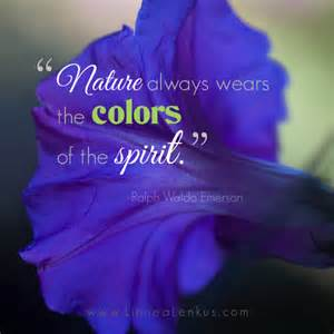 Ralph Waldo Emerson Nature Quote - Inspirational Quotes