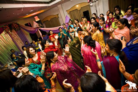 colourful pre wedding rituals  punjabis indias