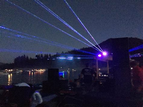 Salt Lake Boat Show by Lasers And Boat Show Light Up Bass Lake News