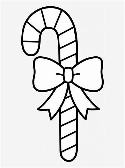 Candy Clipart Cane Coloring Peppermint Pngkey