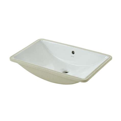 undermount bathroom sink lowes shop jacuzzi mika white undermount rectangular bathroom
