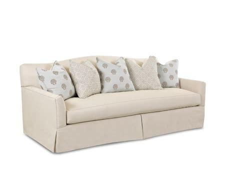 Bench Cushion Sofa Klaussner Leighton Contemporary