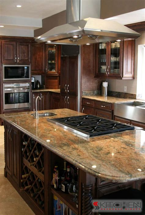 kitchen island with stove top 1000 ideas about island stove on craftsman