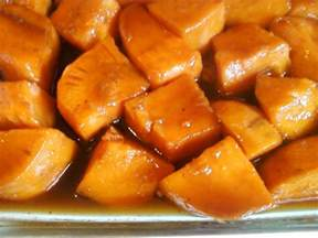 cooking with sugar candied yams